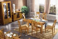 一桌六椅餐�d套�b